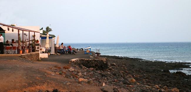 Playa Quemada un tranquillo borgo di pescatori con un paio di ottimi ristorantini