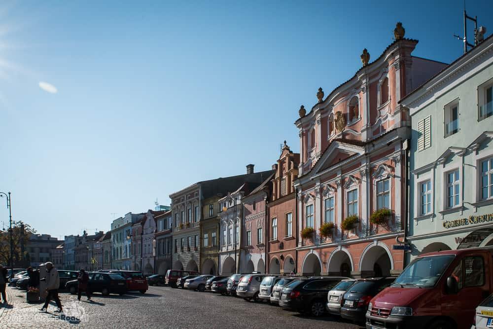 Piazza principale di Litomysl