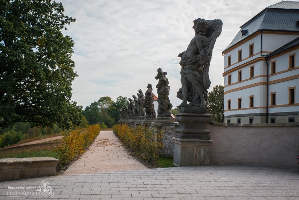 Statue di Matyas Bernard Braun