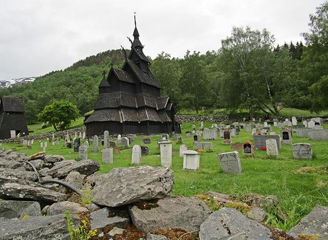 1.7 la Stavkirke di Borgund