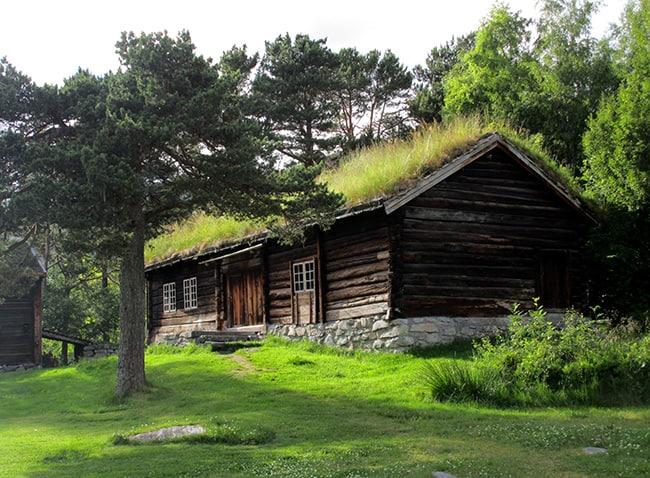 Case storiche a Molde