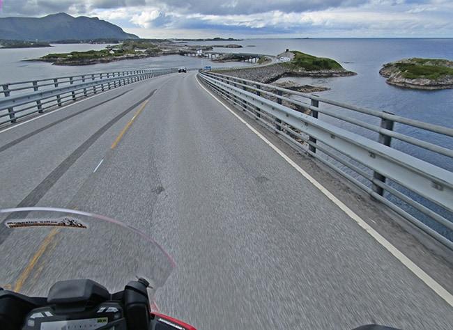 Atlantic Road on board.