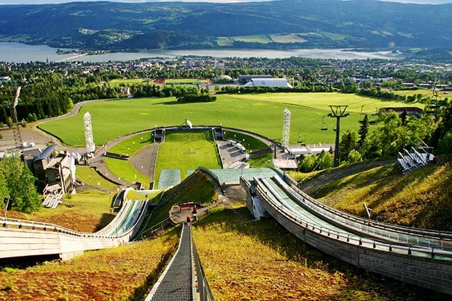 Panorama di Lillehammer
