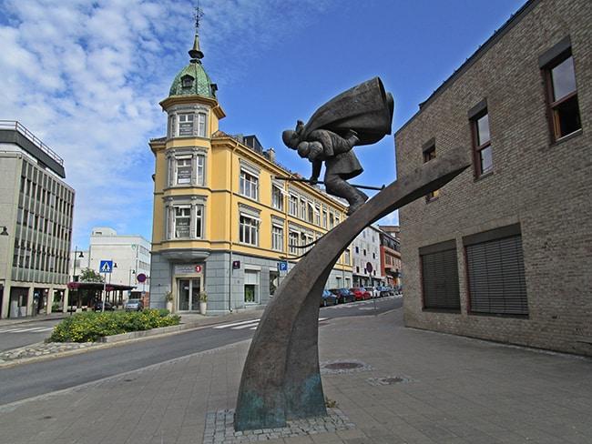 Monumento al Birkekeineren.