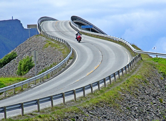 Atlantic Road, il ponte Cantilever.