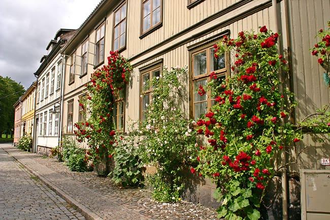 Al Gamlebyen di Fredrikstad.