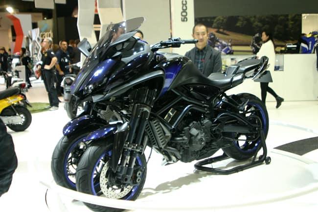 Yamaha tre ruote