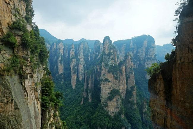 Le montagne Wulingyuan