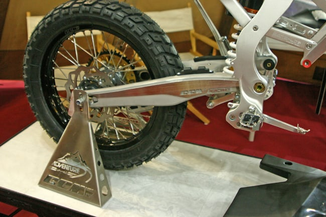 CCM GP450A il forcellone