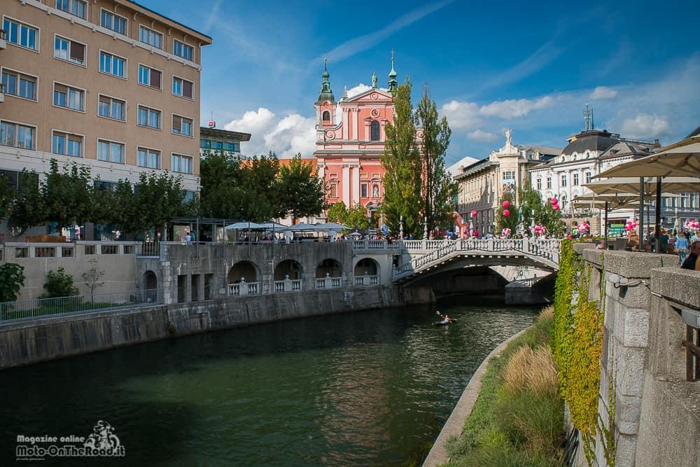 Vista dal Ljubljanica