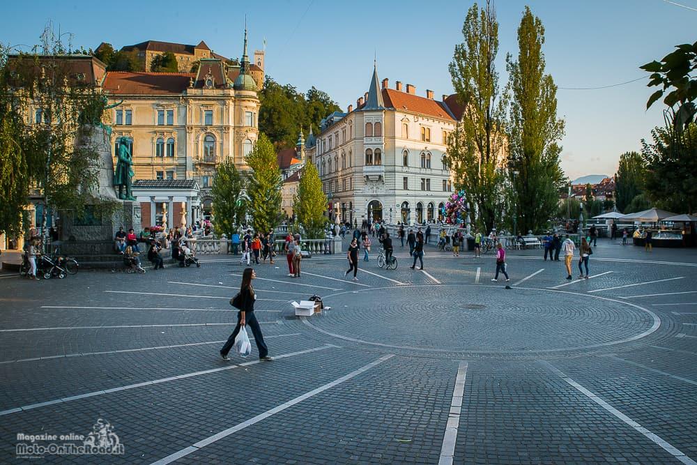 Vista su Piazzale Preseren