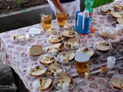I piatti con mozzarella ricotta e caciottina
