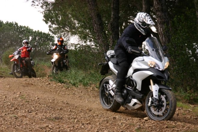 GSSS On Off Tour all'Isola d'Elba. Prova discesa con la Multistrada