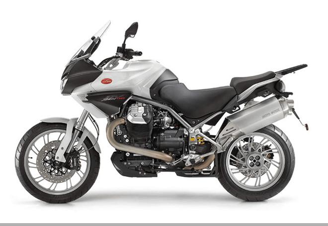 nuova moto guzzi stelvio 2018 idea di immagine del motociclo. Black Bedroom Furniture Sets. Home Design Ideas