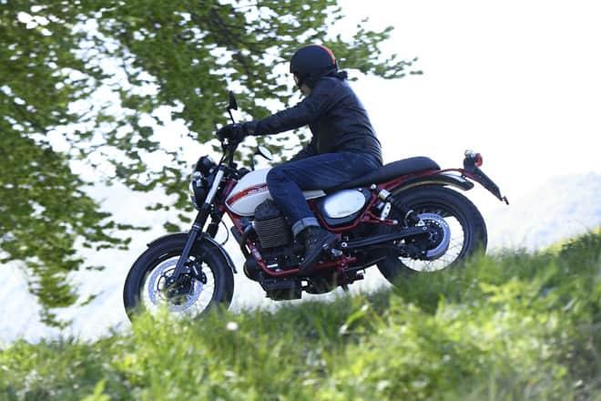 Moto Guzzi Stornello in prova