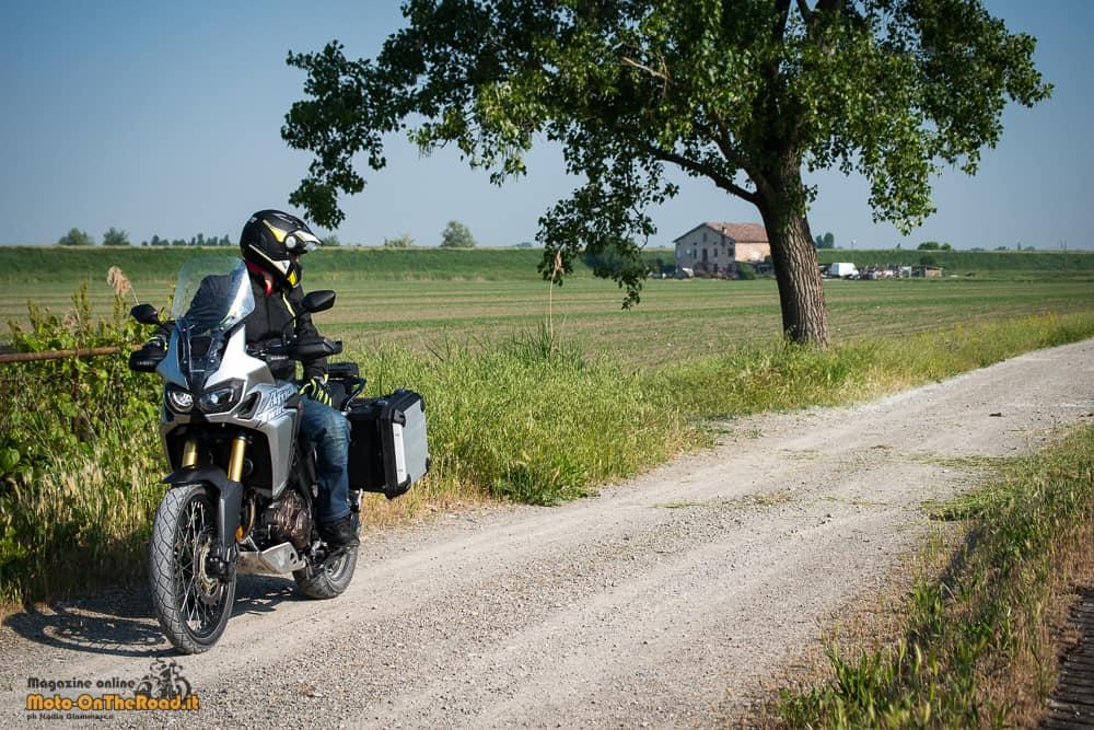 Moto da viaggio: Honda Africa Twin CRF1000