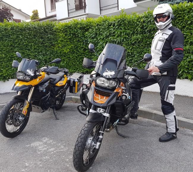 In motocicletta sui passi delle Dolomiti- Pronti a partire