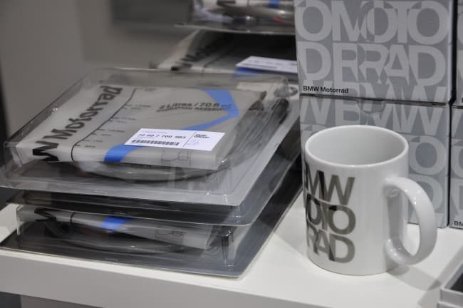 BMW Motorrad Day- l'esposizione - shop