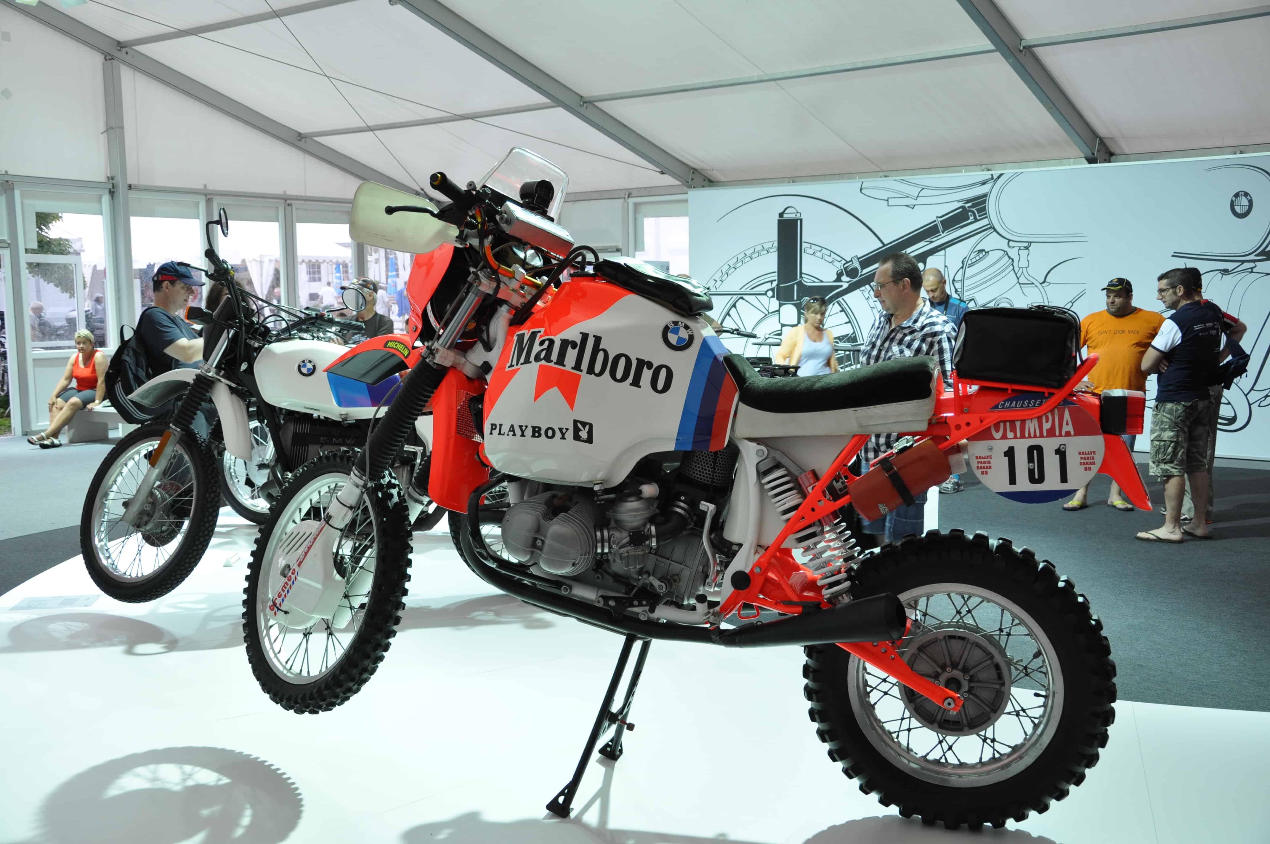BMW Motorrad Day - l'esposizione