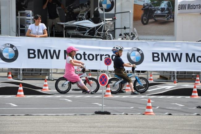 BMW Motorrad Days - percorso per i più piccoli