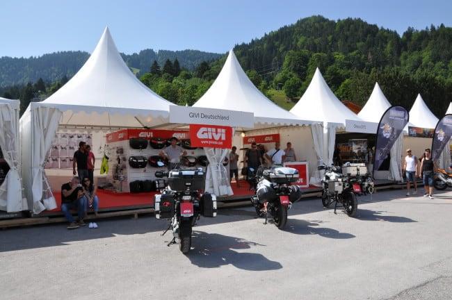 BMW Motorrad Day - stand Givi
