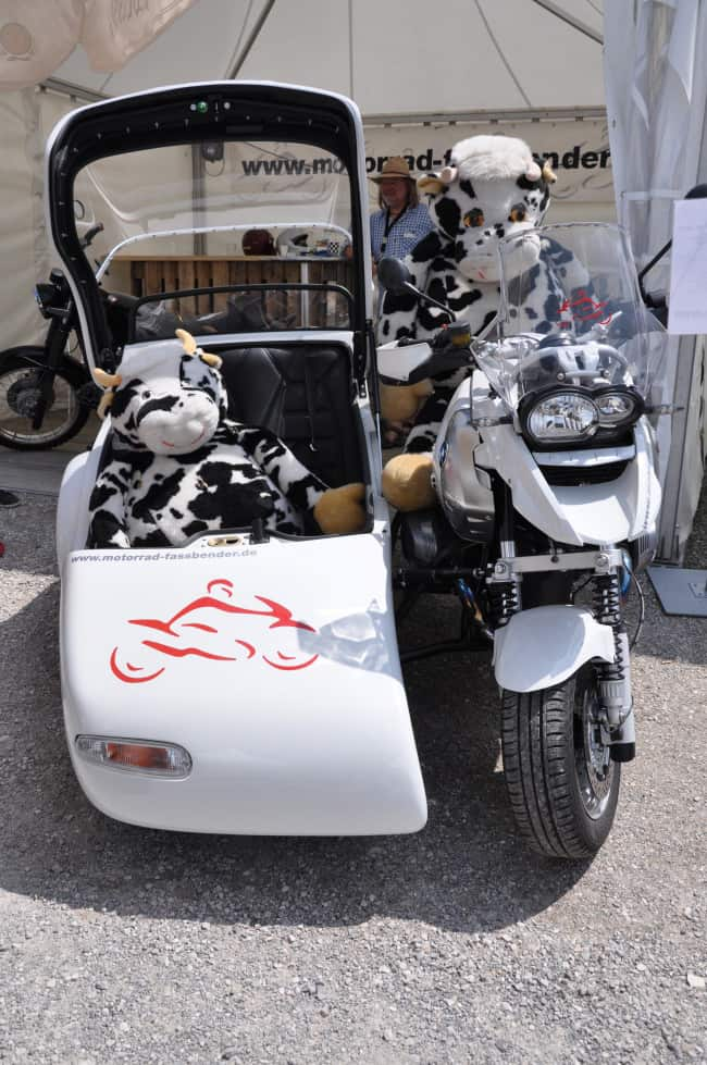 BMW Motorrad Days - mucche on the road