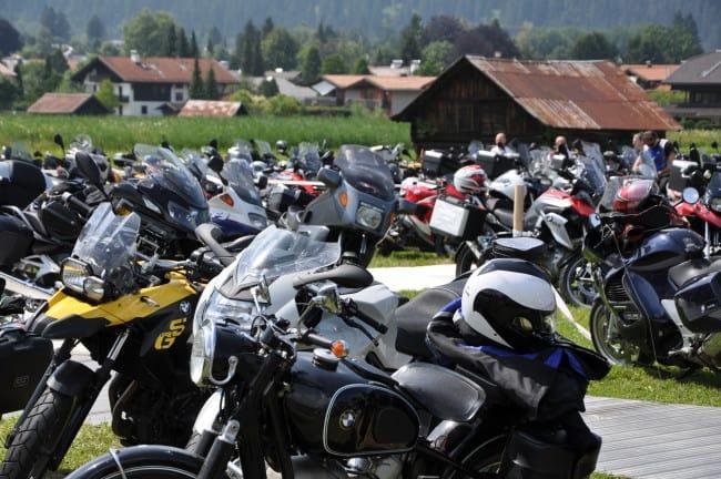 BMW Motorrad Days - i parcheggi