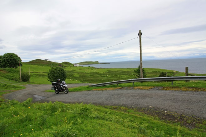 Scozia in moto