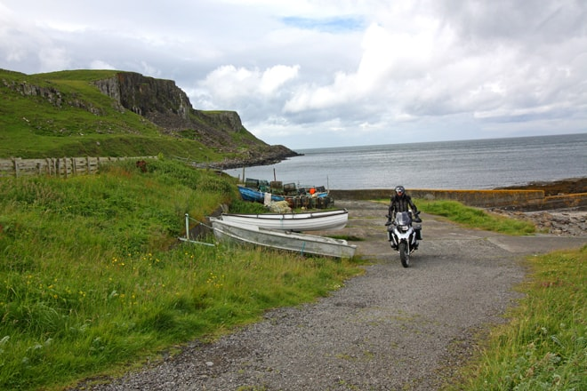 Scozia in moto, isola di Skye