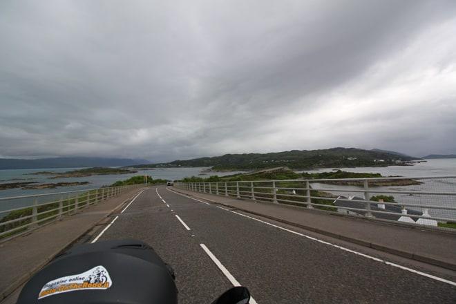 Scozia in moto, Skye bridge