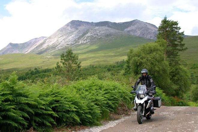 Scozia in moto, uno scorcio del selvaggio nord ovest