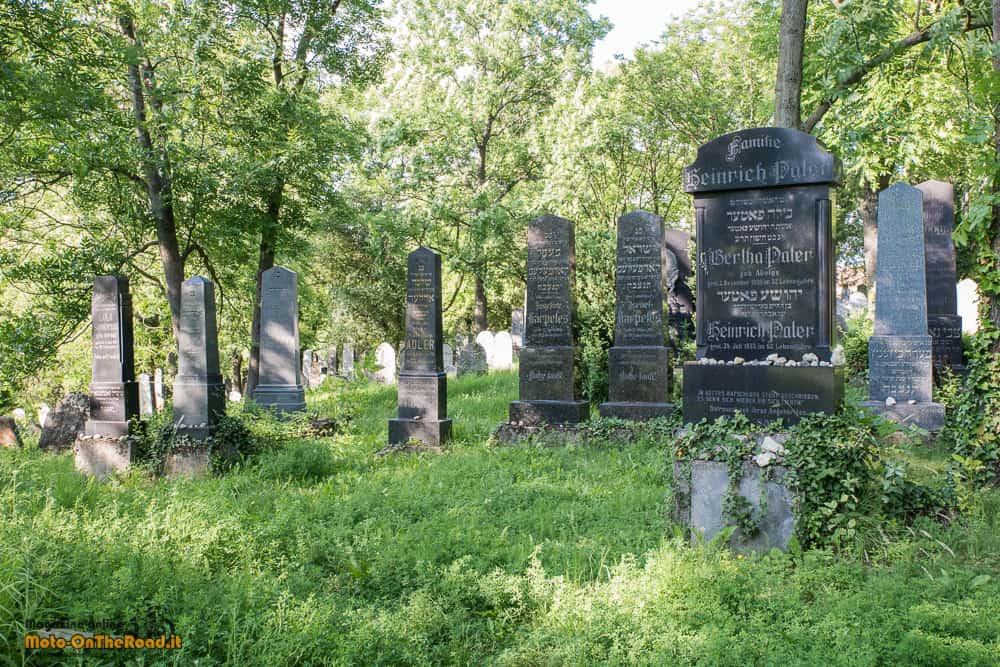Mikulov - cimitero ebraico