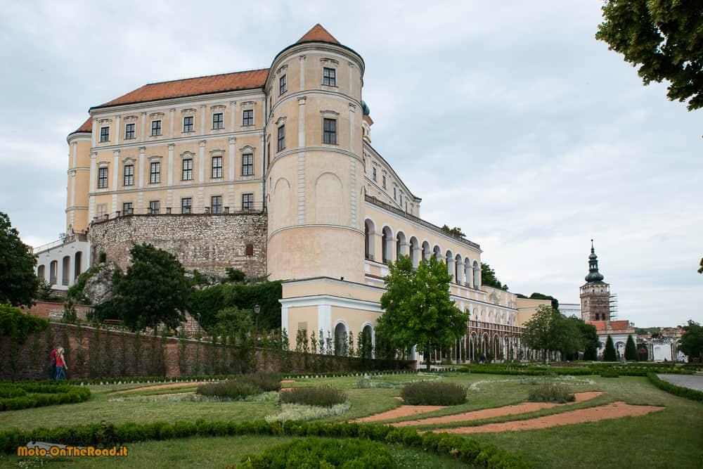 Castello di Mikulov - Moravia