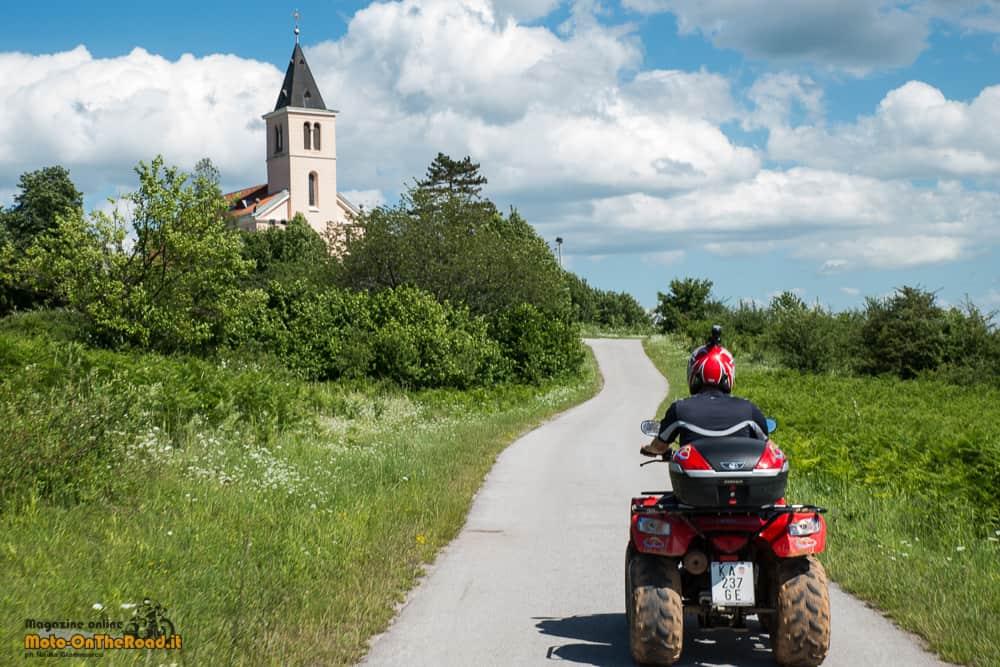 Slunj - Rastoke - Tour sul Quad. Croazia Continentale in moto