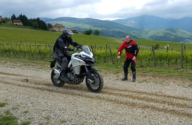 Ducati Ride Experience Enduro