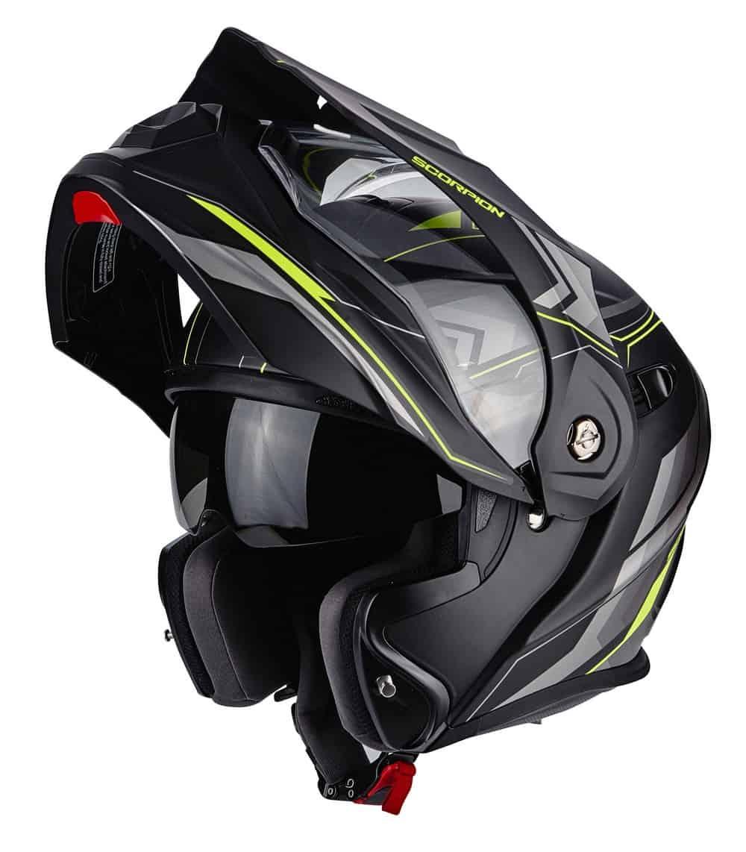 casco scorpion adx 1 dedicato all 39 avventura e al turismo. Black Bedroom Furniture Sets. Home Design Ideas