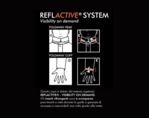 I catarifrangenti a scomparsa, reflactive system visibility on demand.
