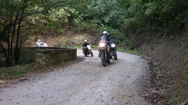sulle strade bianche del Chianti