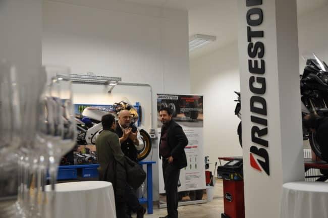L'inaugurazione del punto vendita pneumatici F.lli Moro