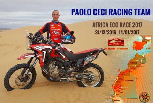 Paolo Ceci dalla Dakar alla Winter Heroes!