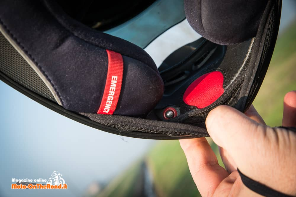 Il sistema di gonfiaggio /s gonfiaggio per regolare la calzata.