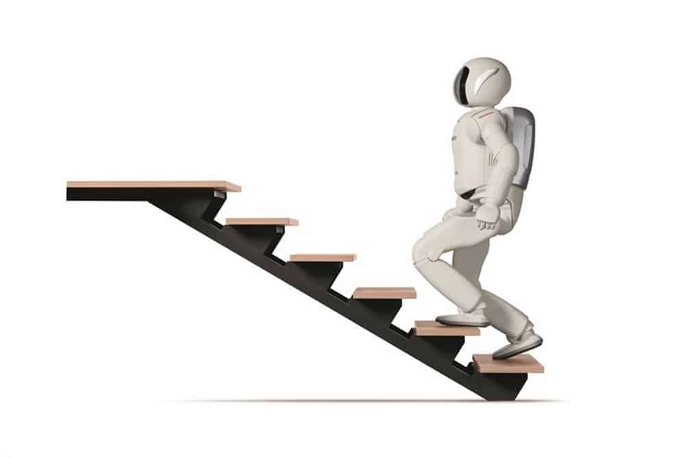 All-New ASIMO Stairs