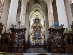 Monastero dei cistercensi - Vyšší Brod - boemia meridionale-0492