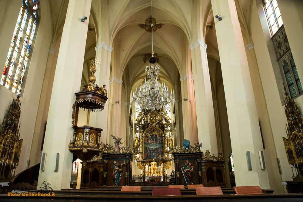 Altare della Chiesa del Monastero dei cistercensi - Vyšší Brod