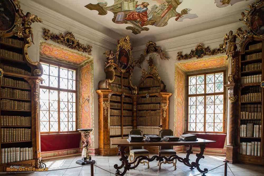Biblioteca del Monastero dei cistercensi - Vyšší Brod