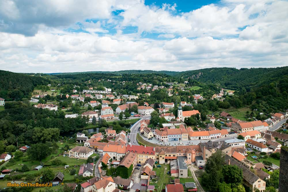 Vranov nad Dyjí - vista dalla terrazza