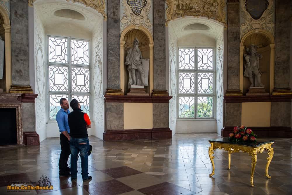 Il salone del Castello di Vranov nad Dyjí