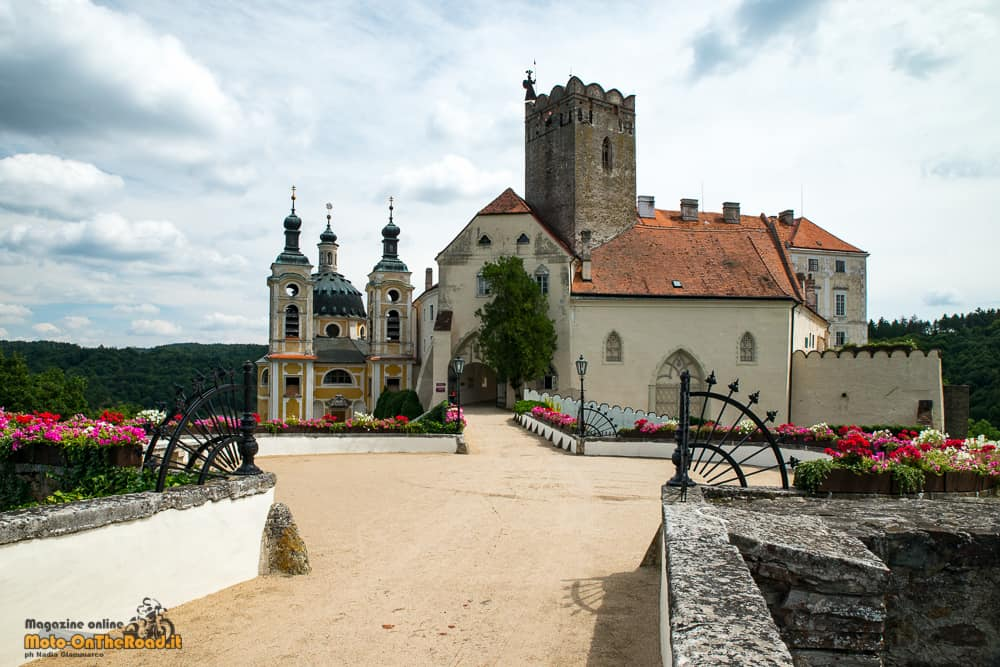 Castello di Vranov nad Dyjí - Moravia meridionale