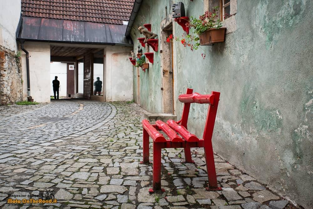 Cesky Krumlov - Boemia meridionale