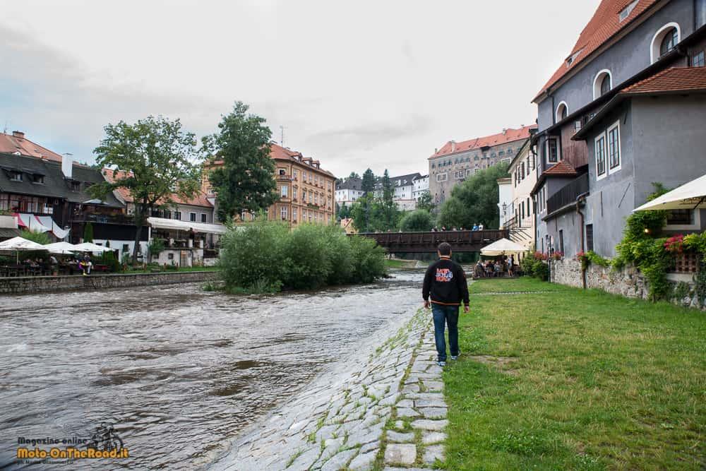 Lungo il fiume Moldava - Cesky Krumlov